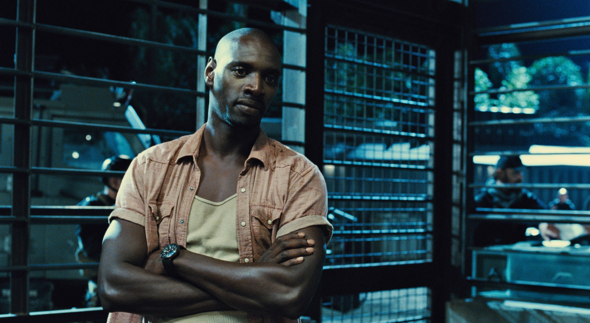 Omar Sy as Barry - Jurassic World