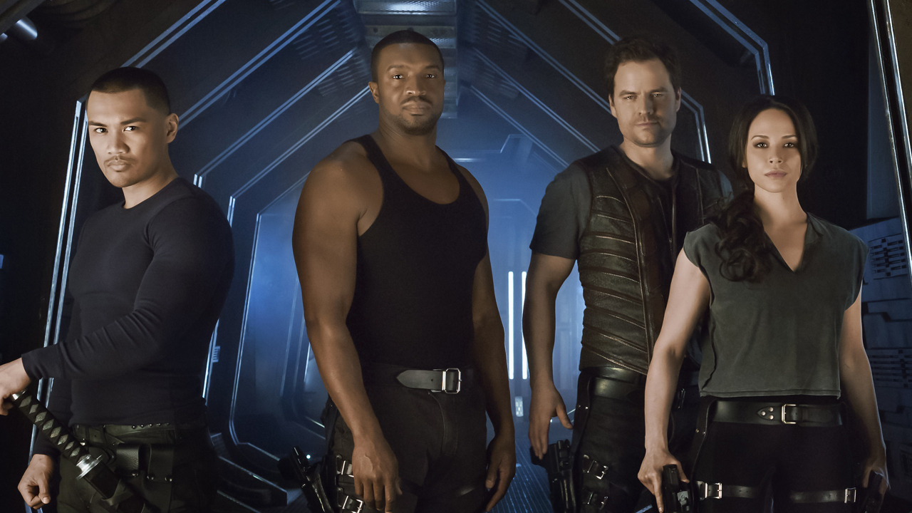 Roger Cross in Dark Matter