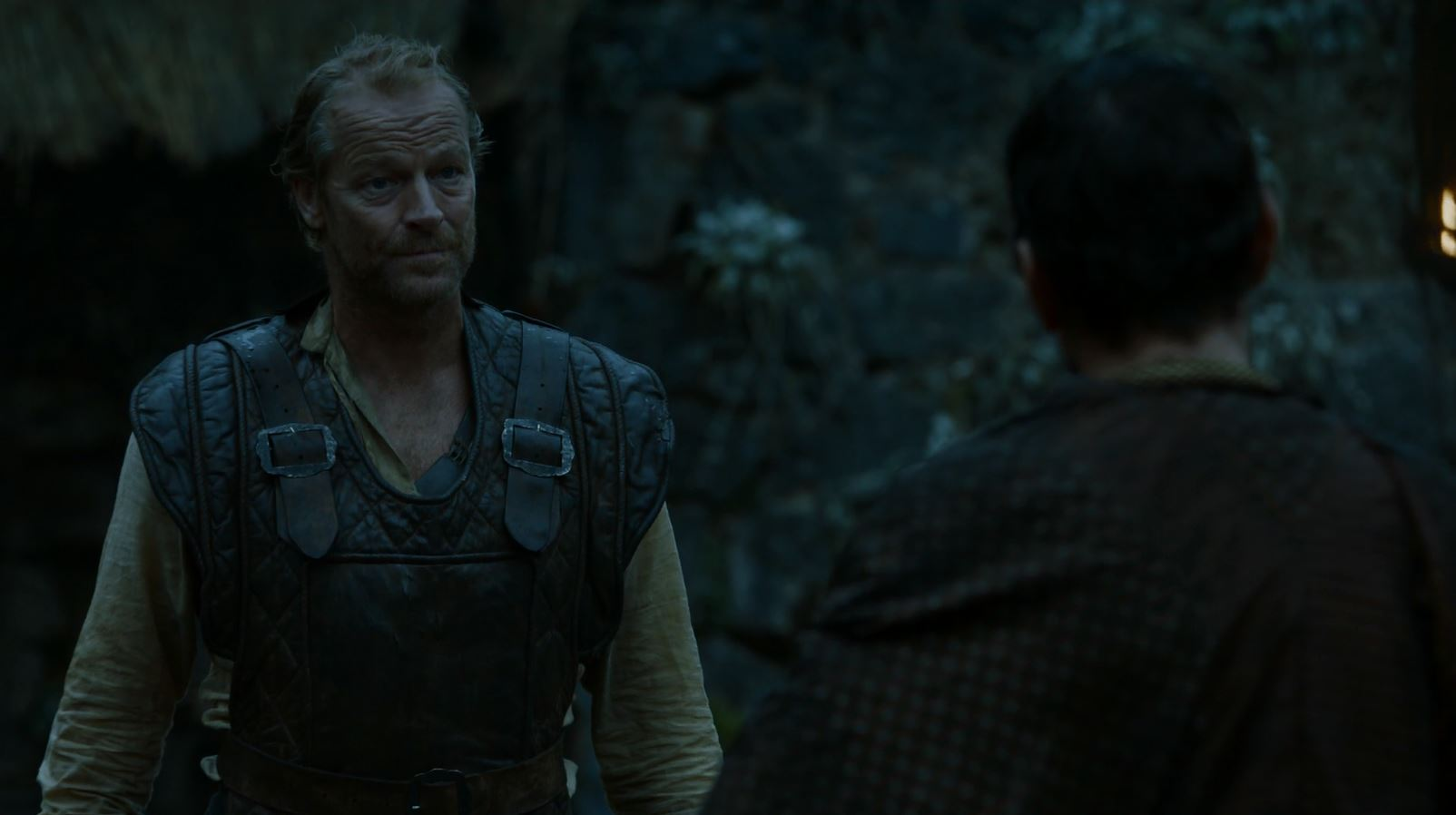 Ser Jorah joins the fighting pits. Game of Thrones S5Ep8 Hardhome Review