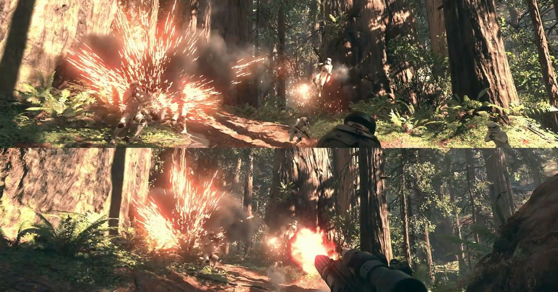 Splitscreen co-op - Star Wars Battlefront Preview
