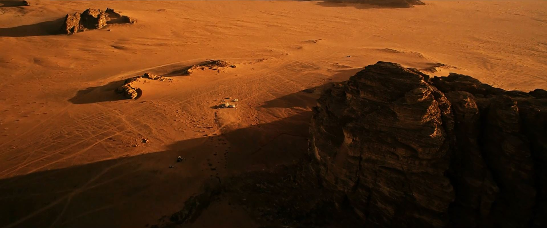 The Martian base camp