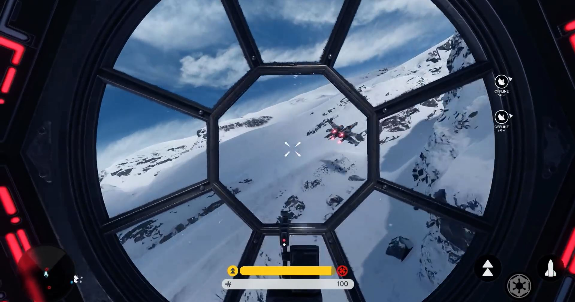 Tie-Fighter cockpit - Star Wars Battlefront Preview