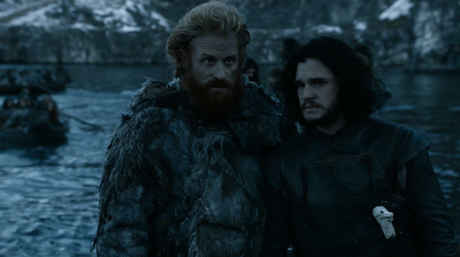 Tormund and Jon Snow at Hardhome. Game of Thrones S5Ep8 Hardhome Review.