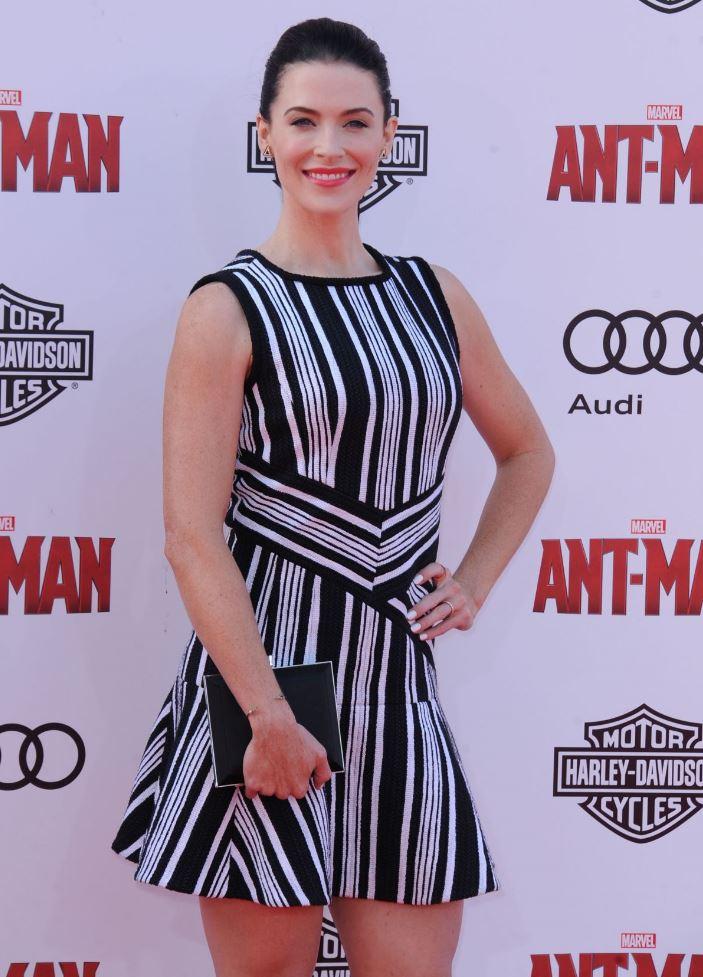 Bridget Regan at Ant-Man premiere.