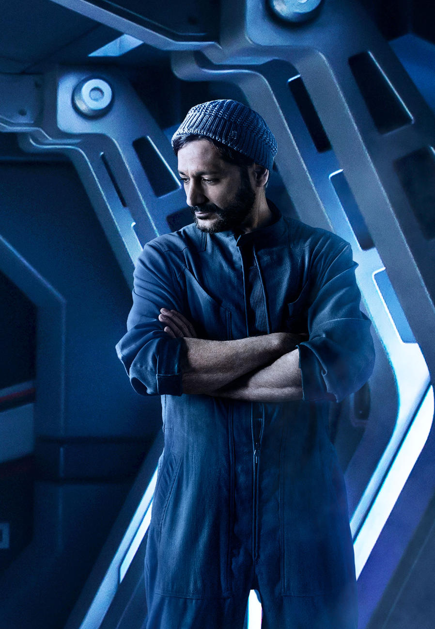 Cas Anvar as Alex Kamal - The Expanse