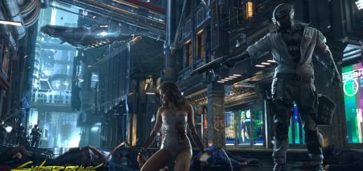 Cyberpunk 2077 neo-noir city