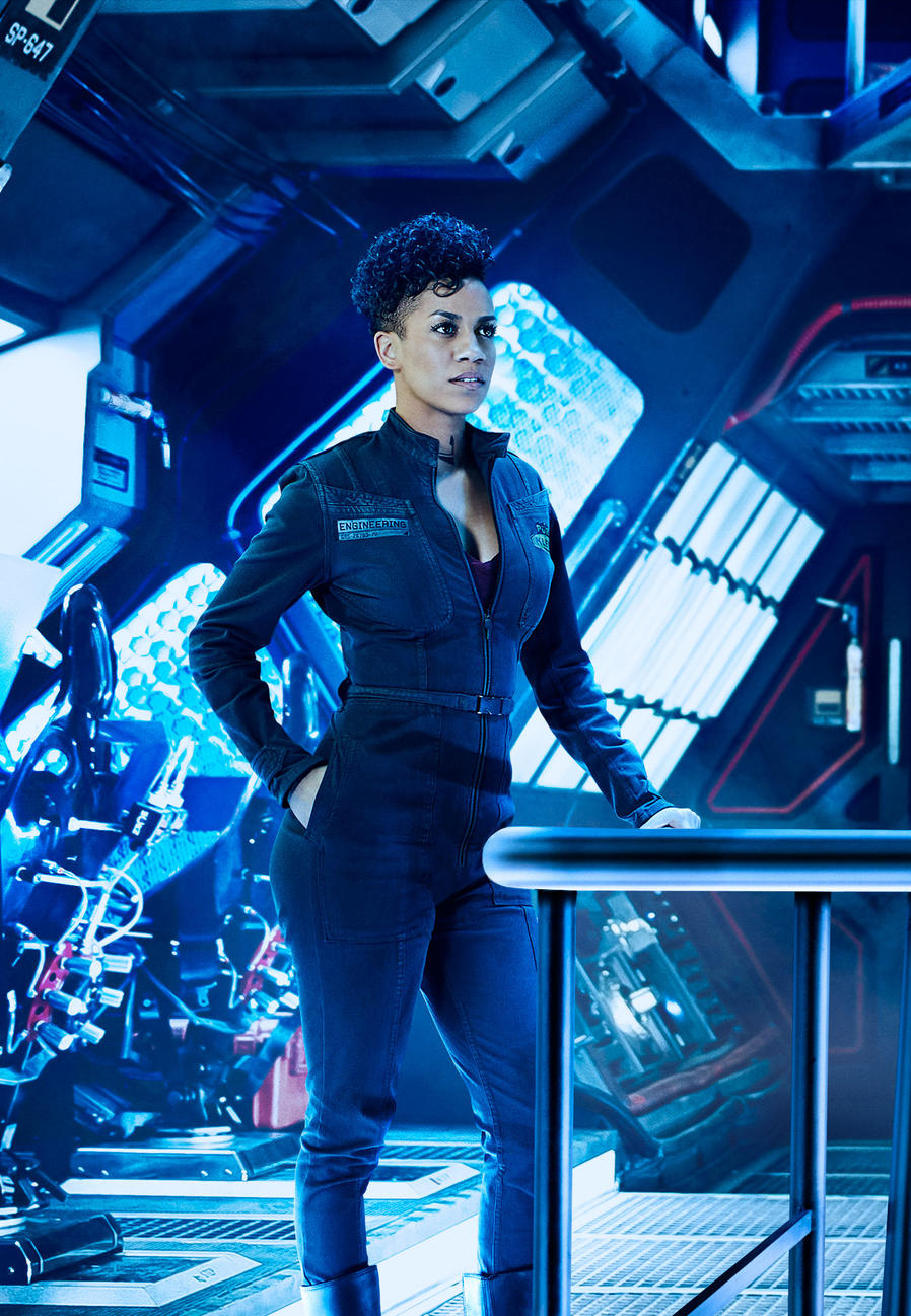 Doinique Tipper as Naomi Nagata in The Expanse