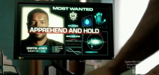 Roger Cross as Griffin Jones - most wanted. Dark Matter Episode 4 Review