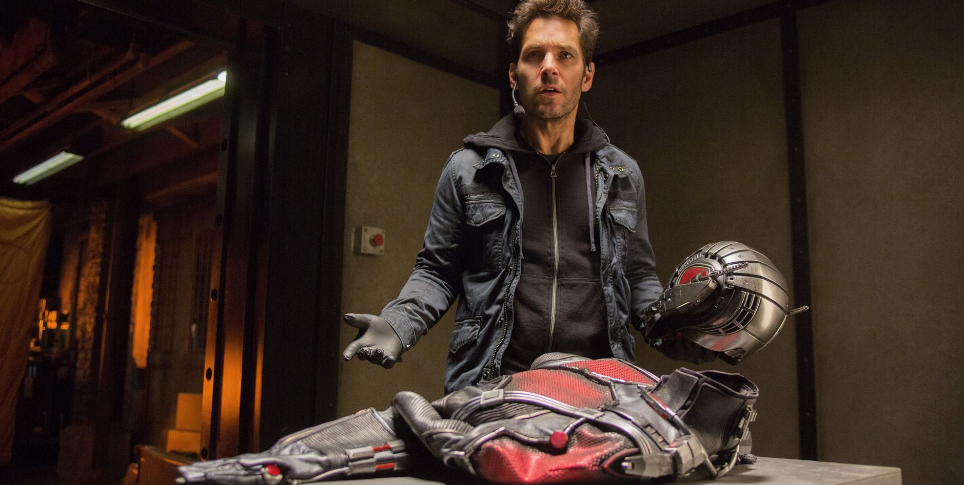 Scott disocvers the ant-man suit. Ant-Man Review