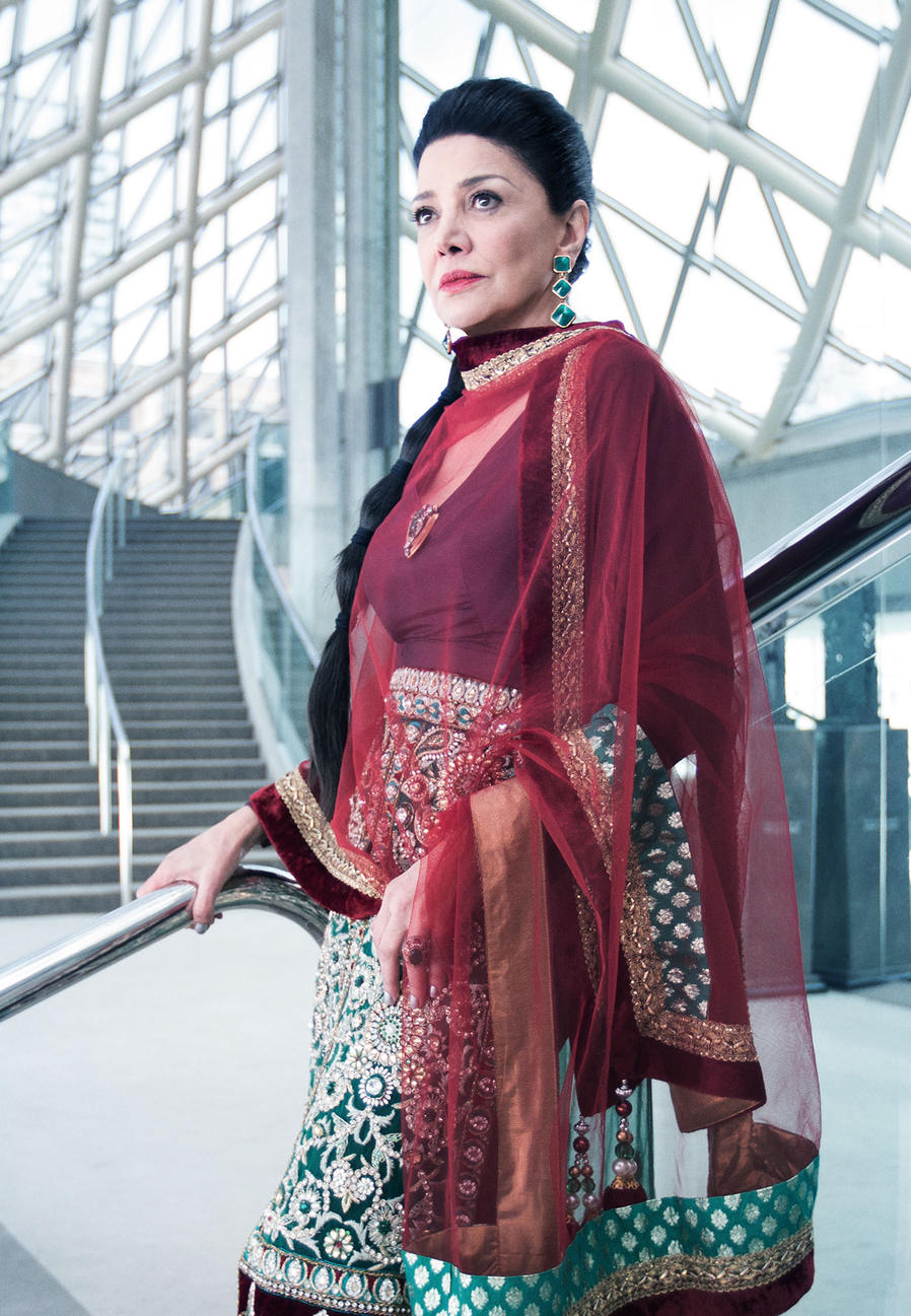 Shohreh Aghdashloo as Chrisjen Avasarala. The Expanse