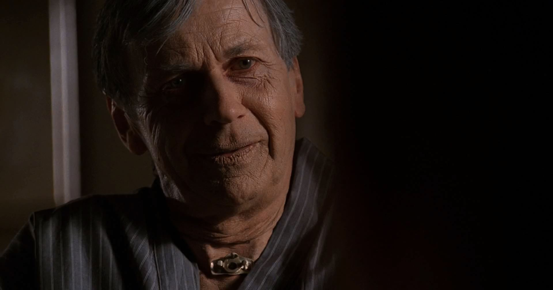 X-Files Revival miniseries. Aging Cigarette Smoking Man from season 9