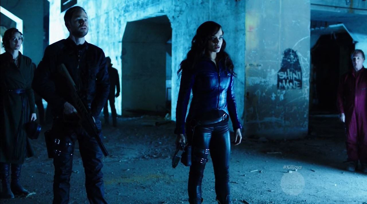 Dutch and John plot their escape - Killjoys Finale Review