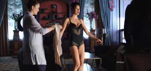 Mayko Nguyen sexy lingerie - Killjoys Finale Review