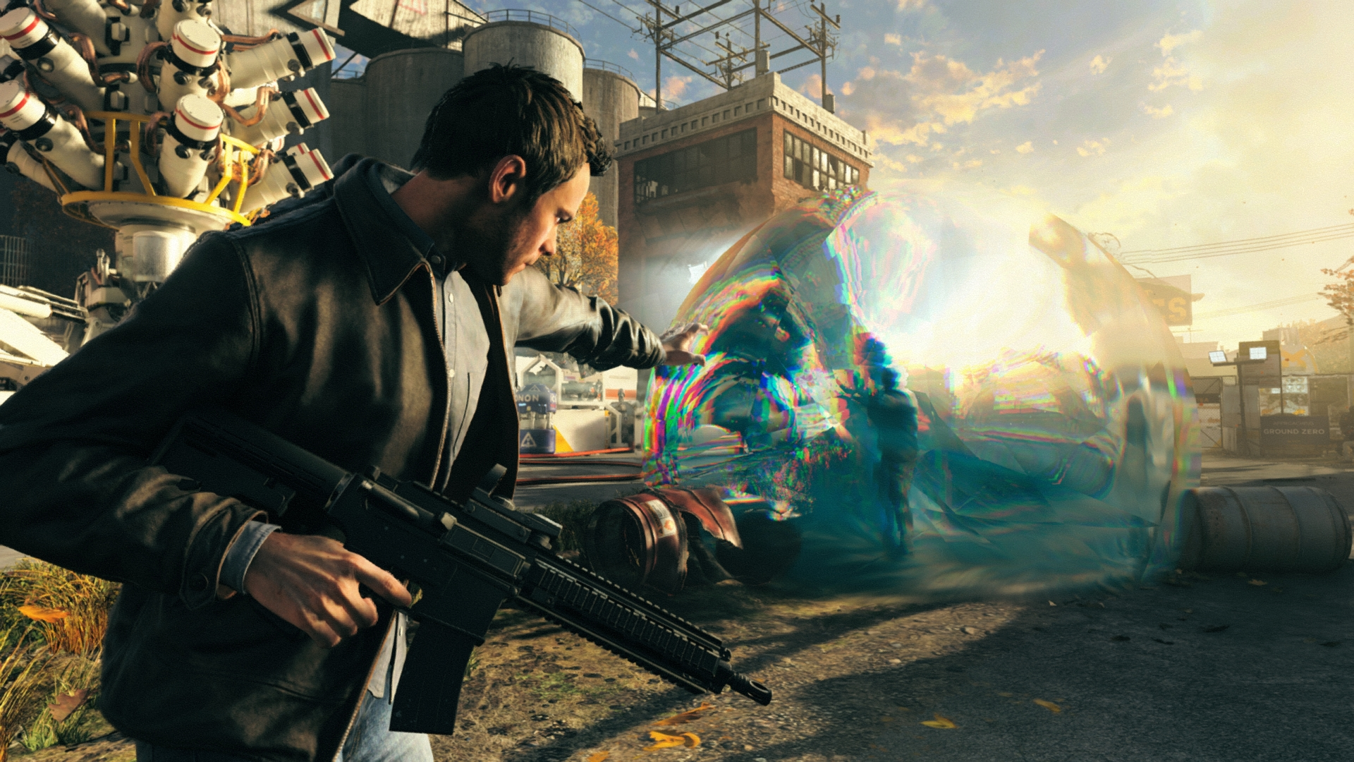Quantum Break - stopping time when it matters