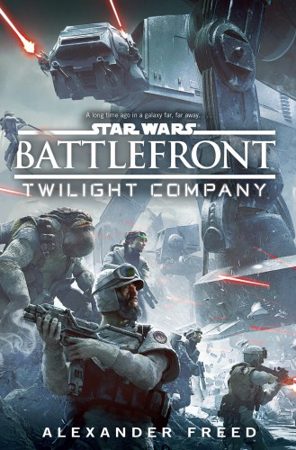Battlefront Twilight Company cover. The Force Awakens books and novels announced