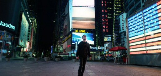 Elliot (Rami Malek) standing in Times Square - Mr. Robot Season Finale Review