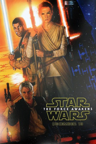 Star Wars The Force Awakens novelization cover. Alan Dean Foster. The Force Awakens books and novels announced