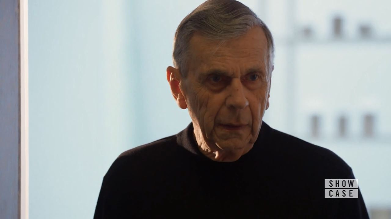 William B. Davis as old Alec. Continuum Season 4 Premiere Review