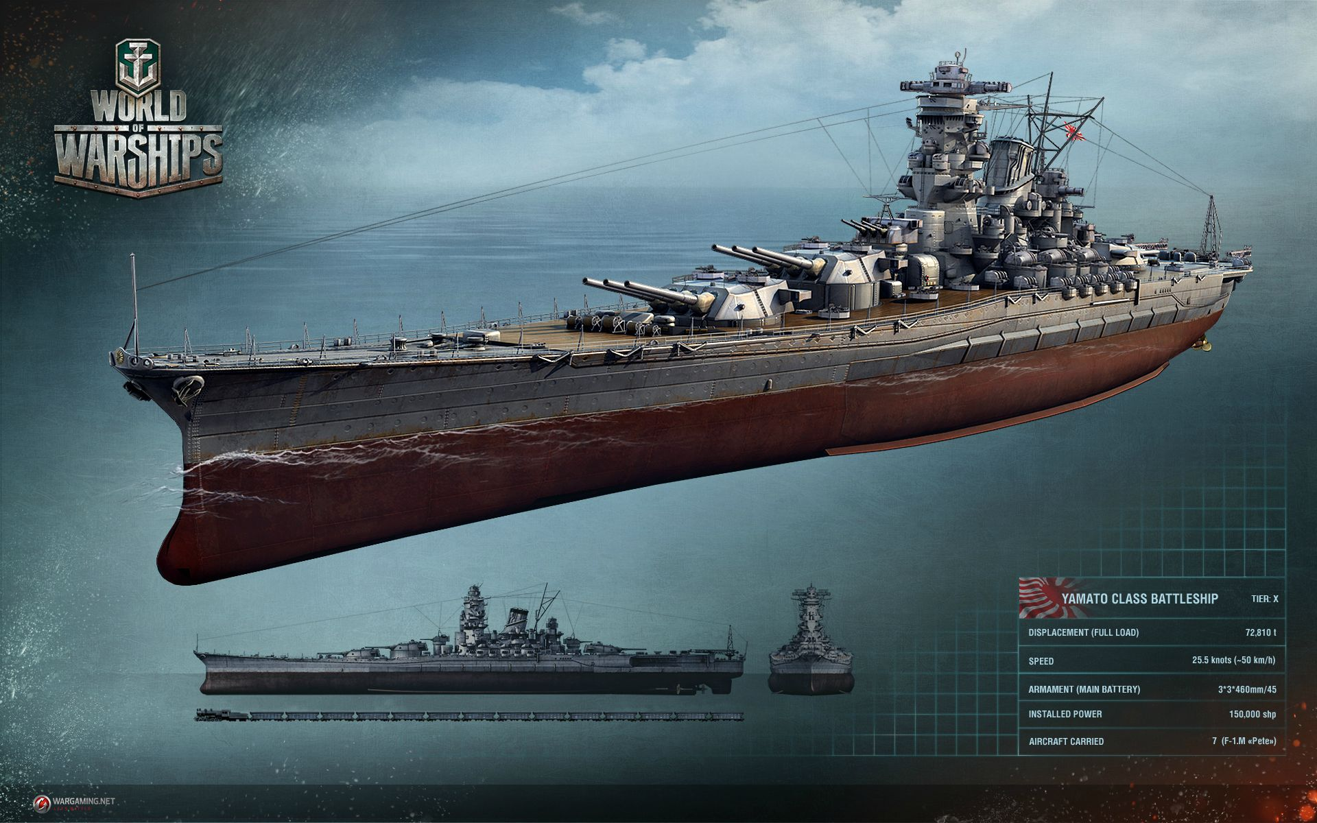 World Of Warships Review. Yamato.