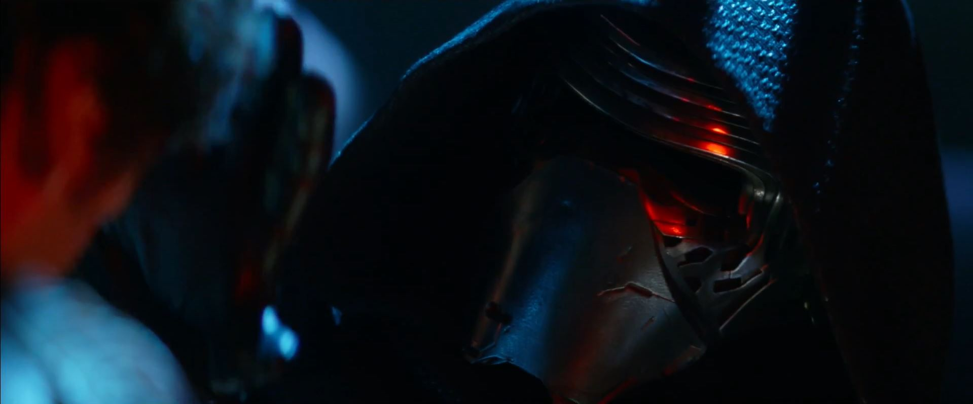Kylo Ren torturing (played by Adam Driver). The Force Awakens trailer released