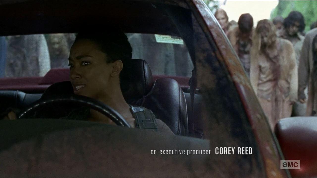 Sonequa Martin-Green as Sasha Williams. The Walking Dead