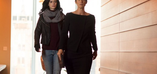 Carrie-Anne Moss as Jeri Holgrath and Krysten Ritter as Jessica Jones