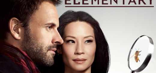 Elementary Season 4. Lucy Liu and Jonny Lee Miller.