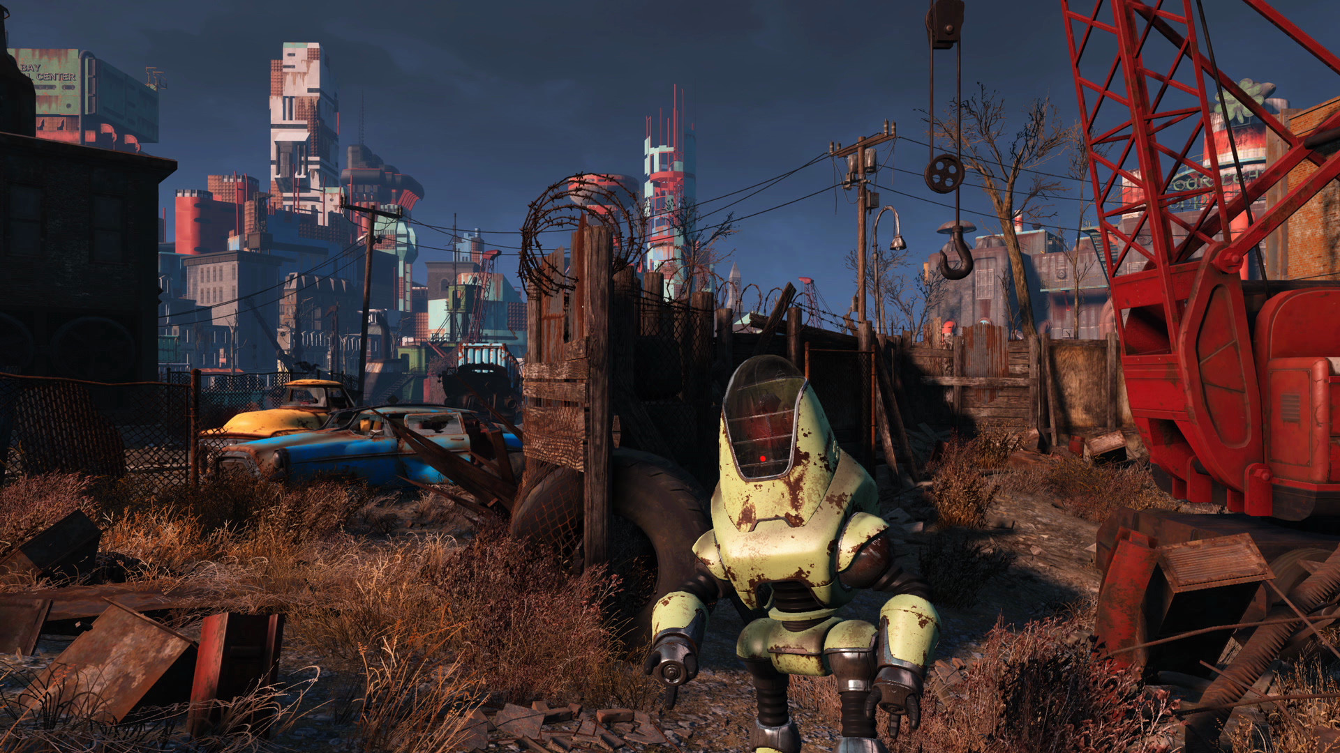 Fallout 4 Review - enemy robot