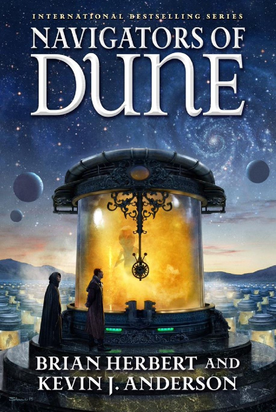 Navigators of Dune by Brian Herbert and Kevin J. Anderson