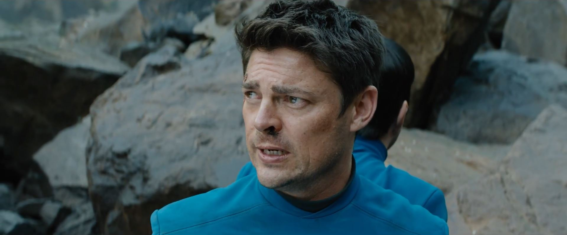 First trailer for Star Trek Beyond. Karl Urban as Doctor McCoy