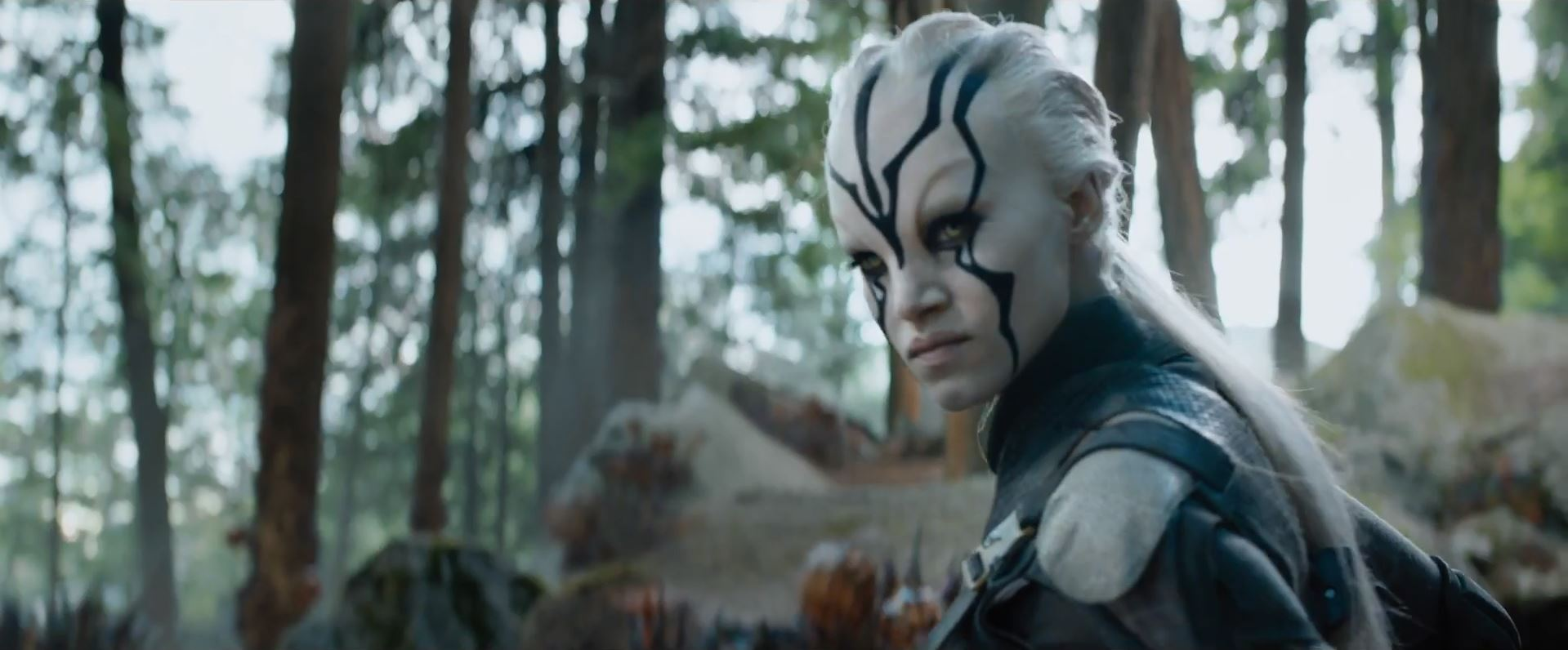 First trailer for Star Trek Beyond. Sofia Boutella
