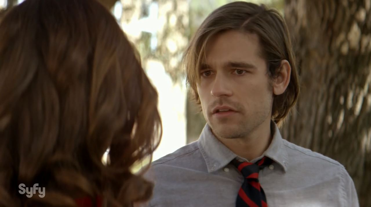 Jason Ralph in The Magicians as Quintin.