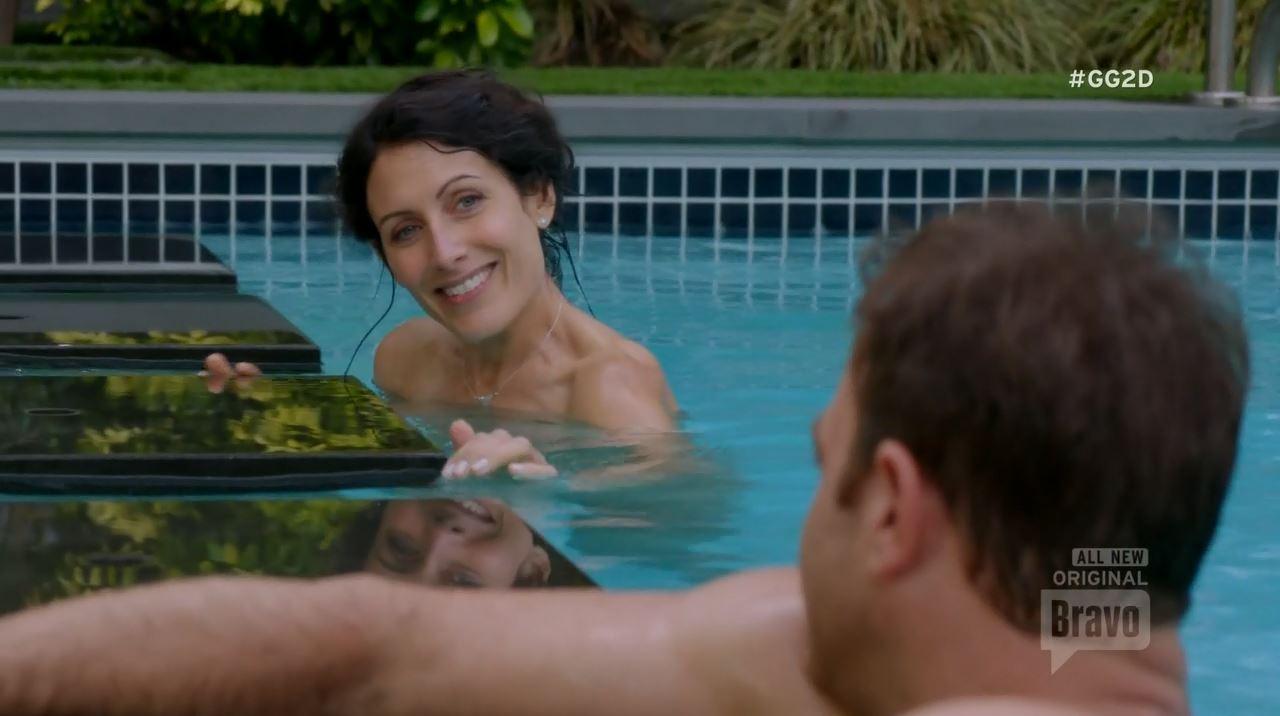 Lisa Edelstein skinny dipping. Girlfriends Guide To Divorce