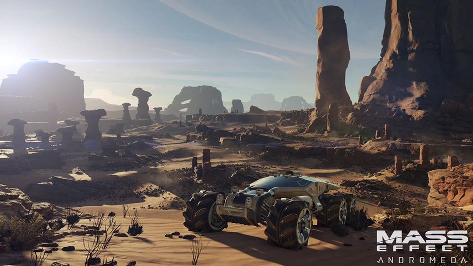 Mass Effect Andromeda. Upcoming Sci-Fi Games of 2016
