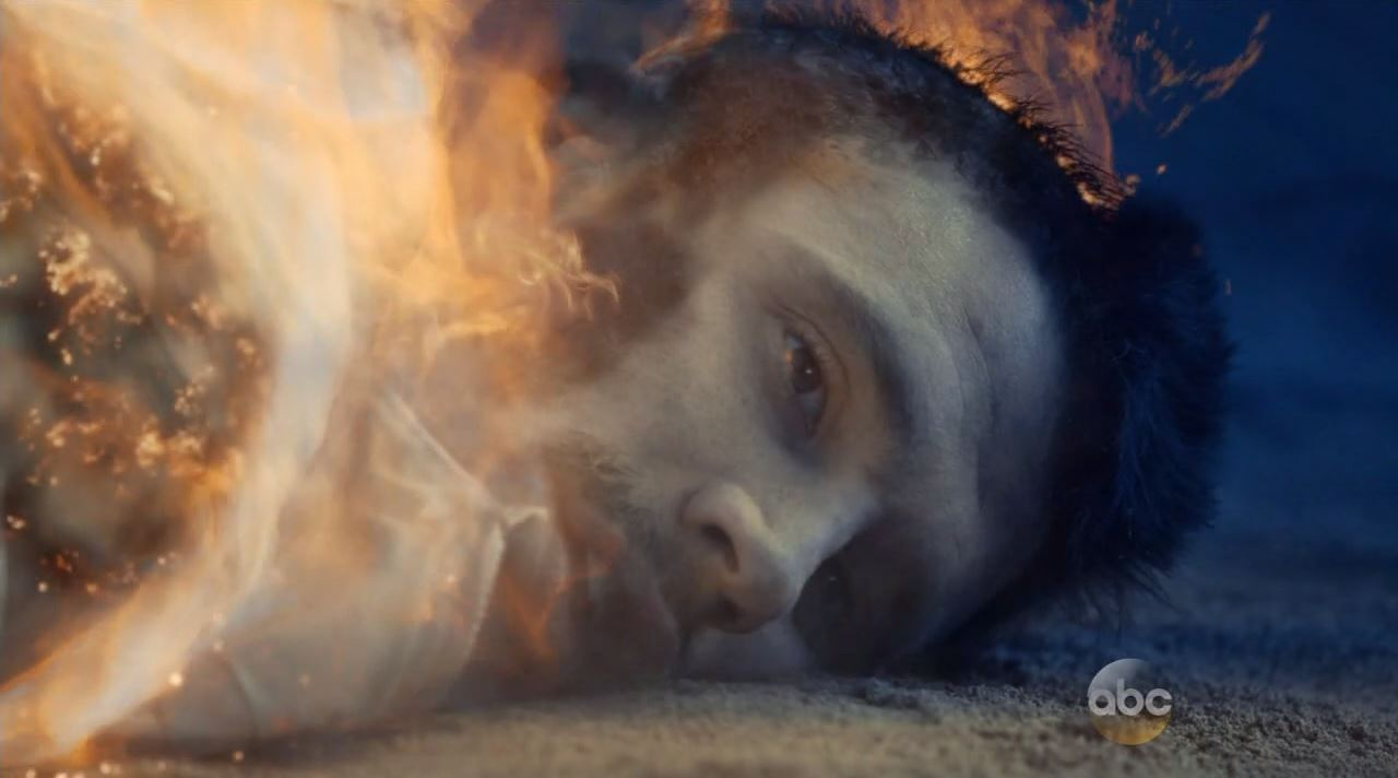 Will's funeral pyre by Fitz. Agents of SHIELD mid-season finale Maveth review!