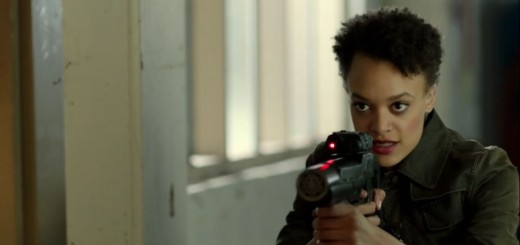 Britne Oldford in Hunters