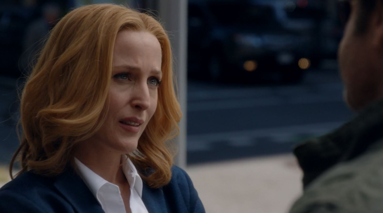 Gillian Anderson as Dana Scully. The X-Files (miniseries) My Struggle Review