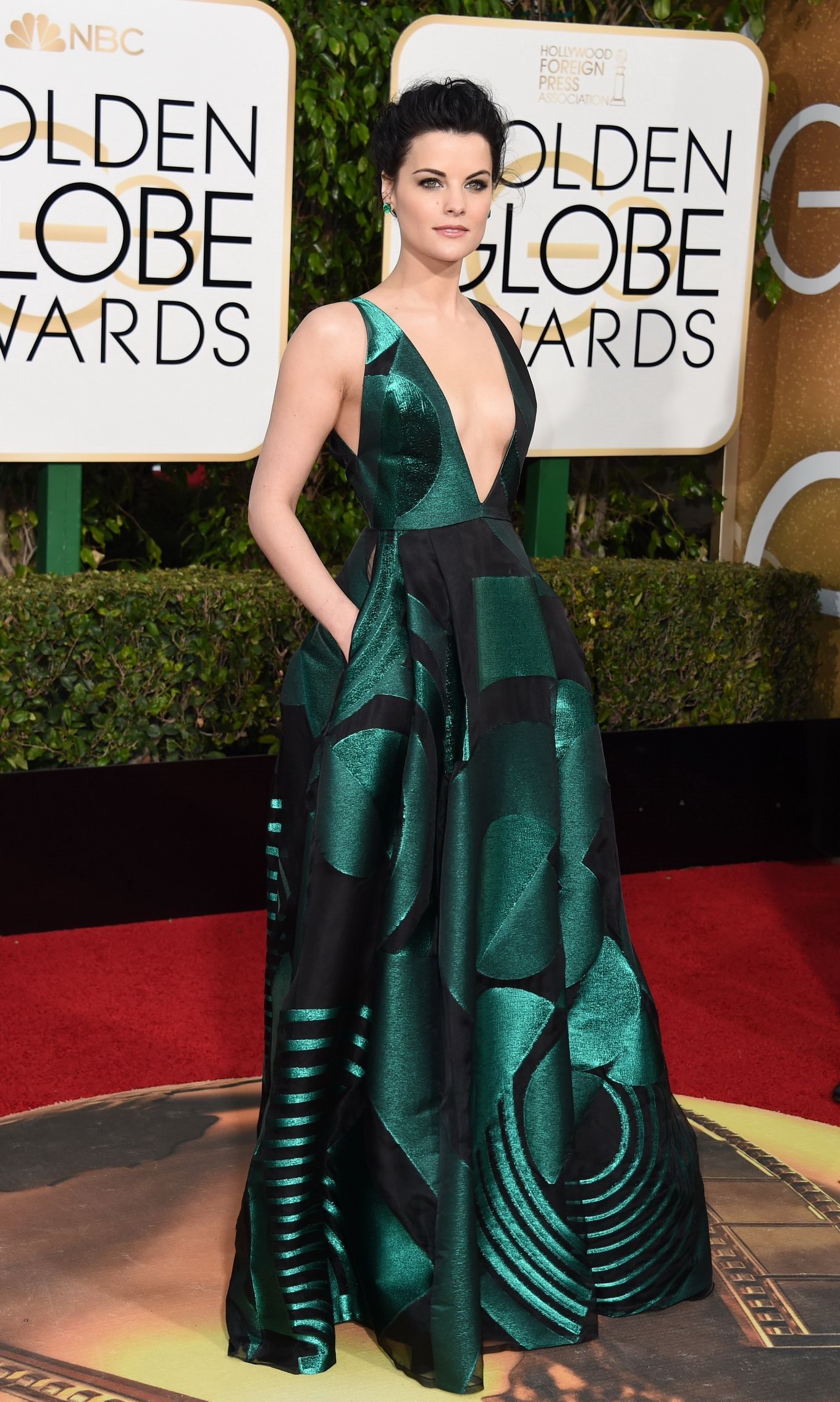 Jaime Alexander at Golden Globes Awards 2016