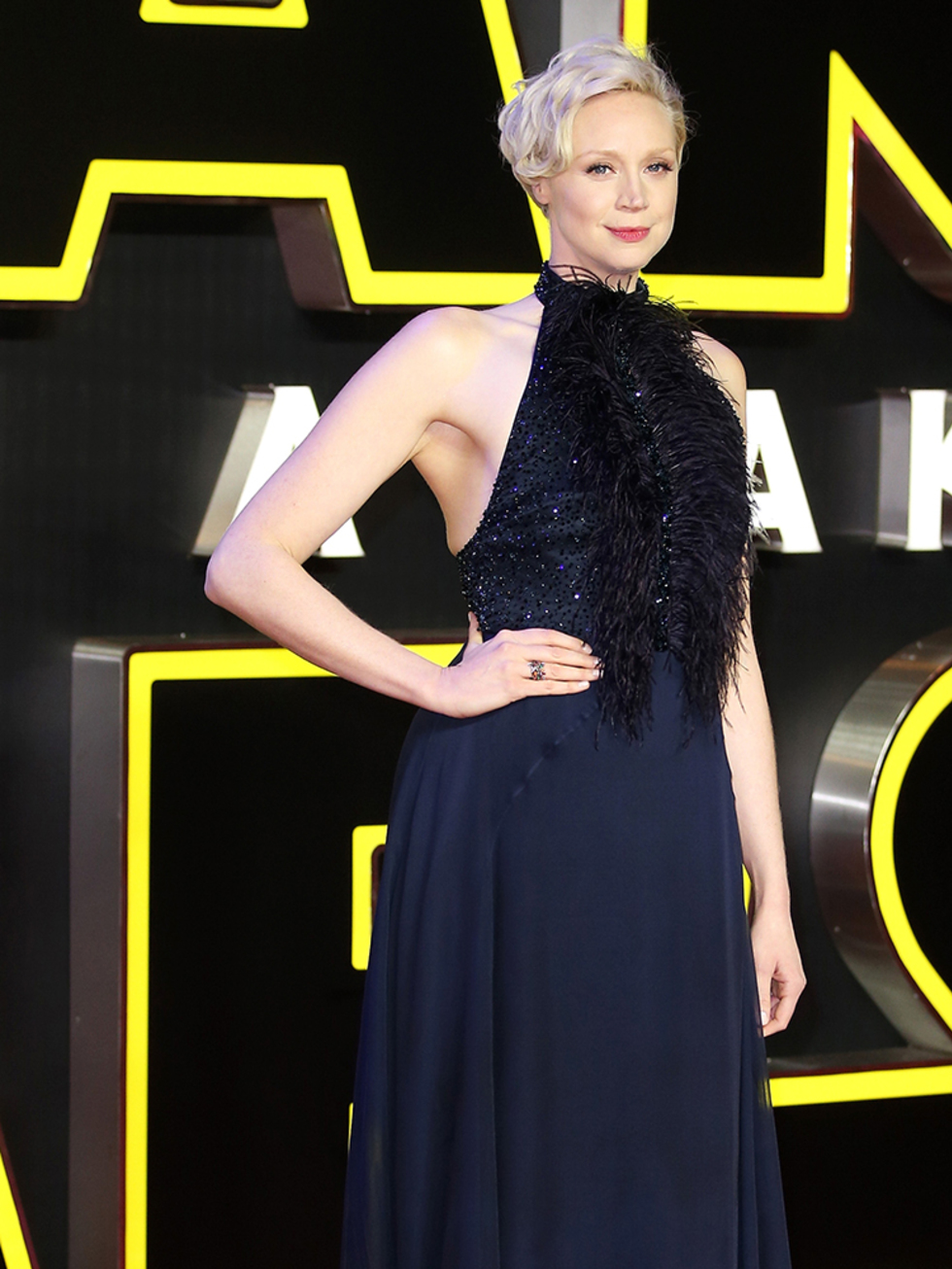 Gwendoline Christie at the Force Awakens Premiere. Captain Phasma hot
