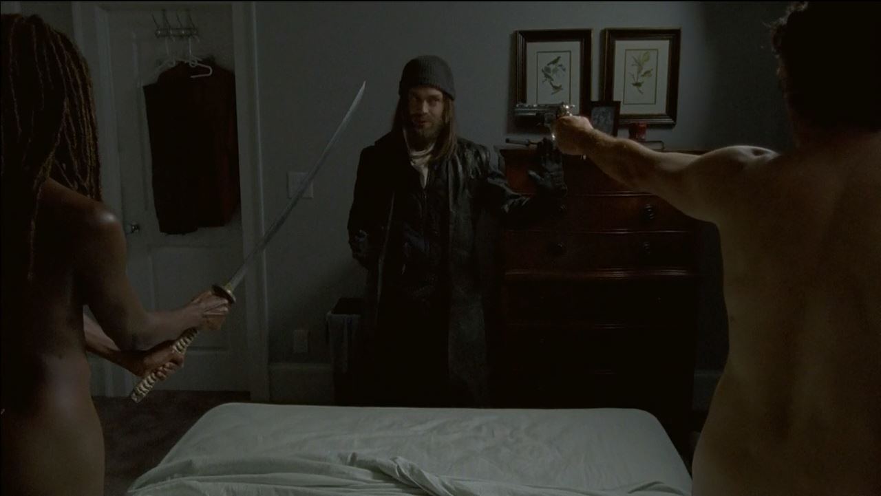 Michonne and Rick naked with Jesus. The Walking Dead S6Ep11 Knots Untie - a short opinion