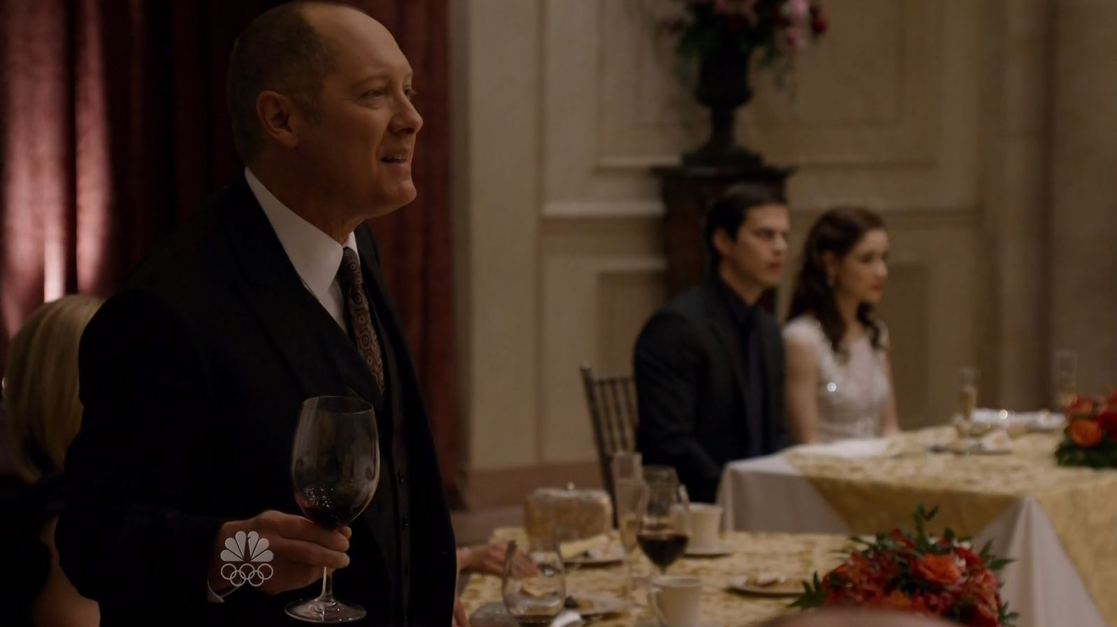 Reddington talking about his favorite telenovella. The Blacklist S3Ep13 Alistair Pitt Review