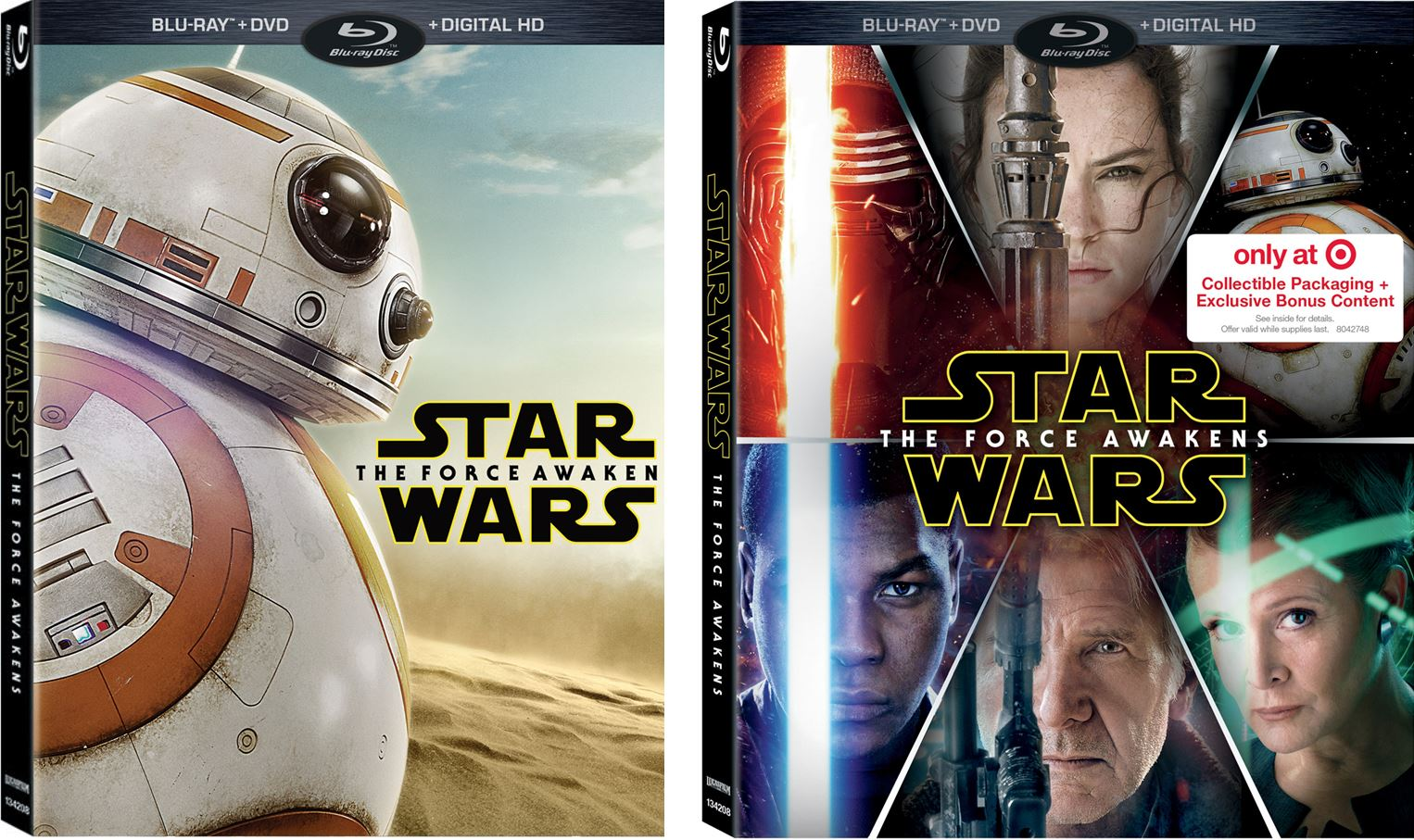 Force Awakens Blu-Ray release set for early April