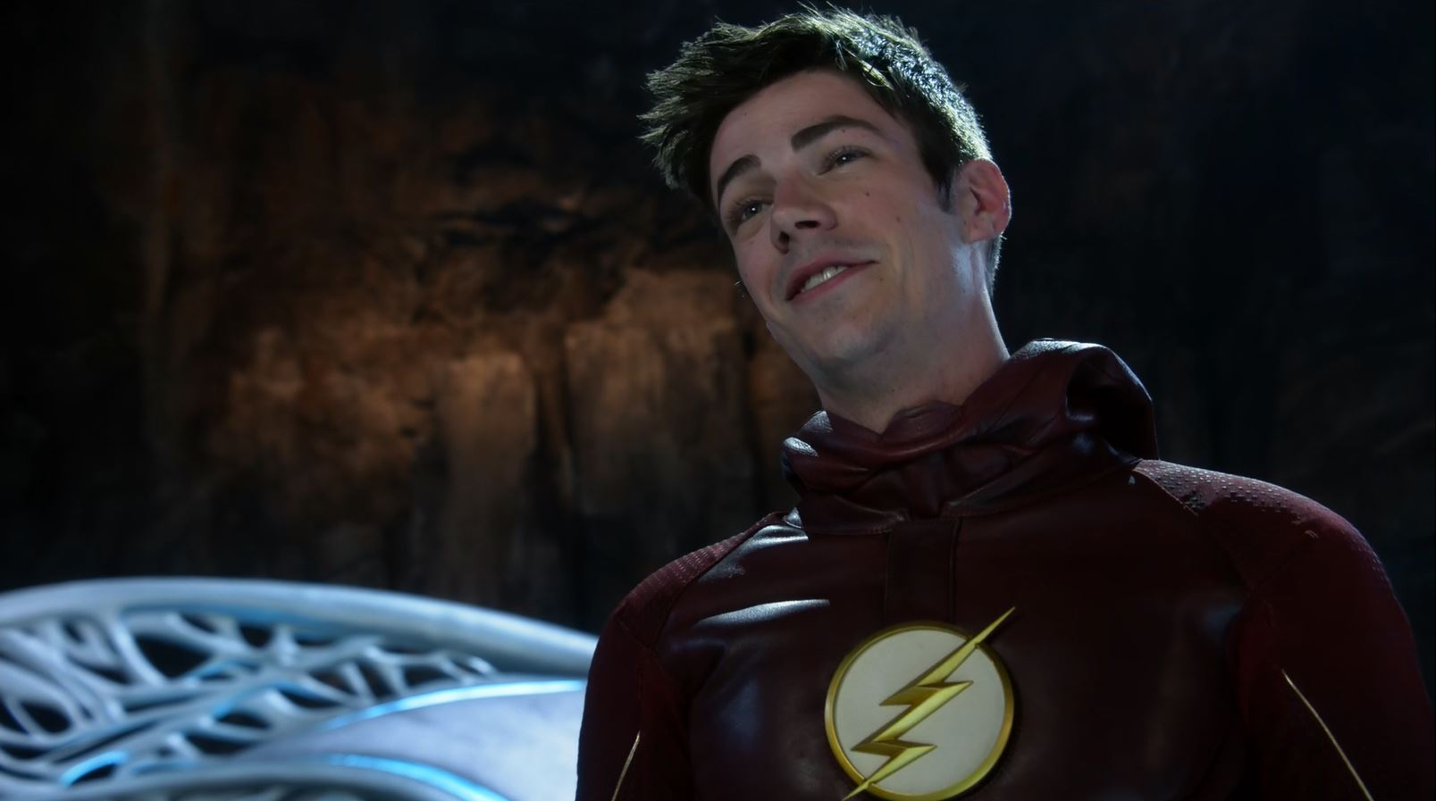 Grant Gustin as The Flash on Supergirl