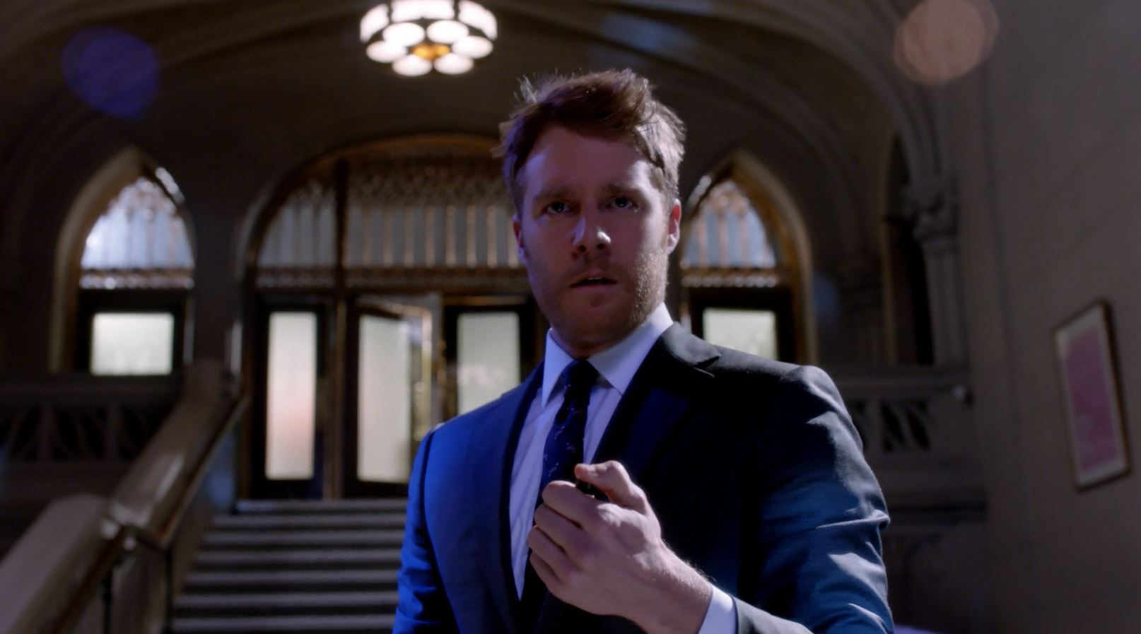 Jake McDorman as Brian Finch. Limitless S1Ep19 A Dog's Breakfast Review