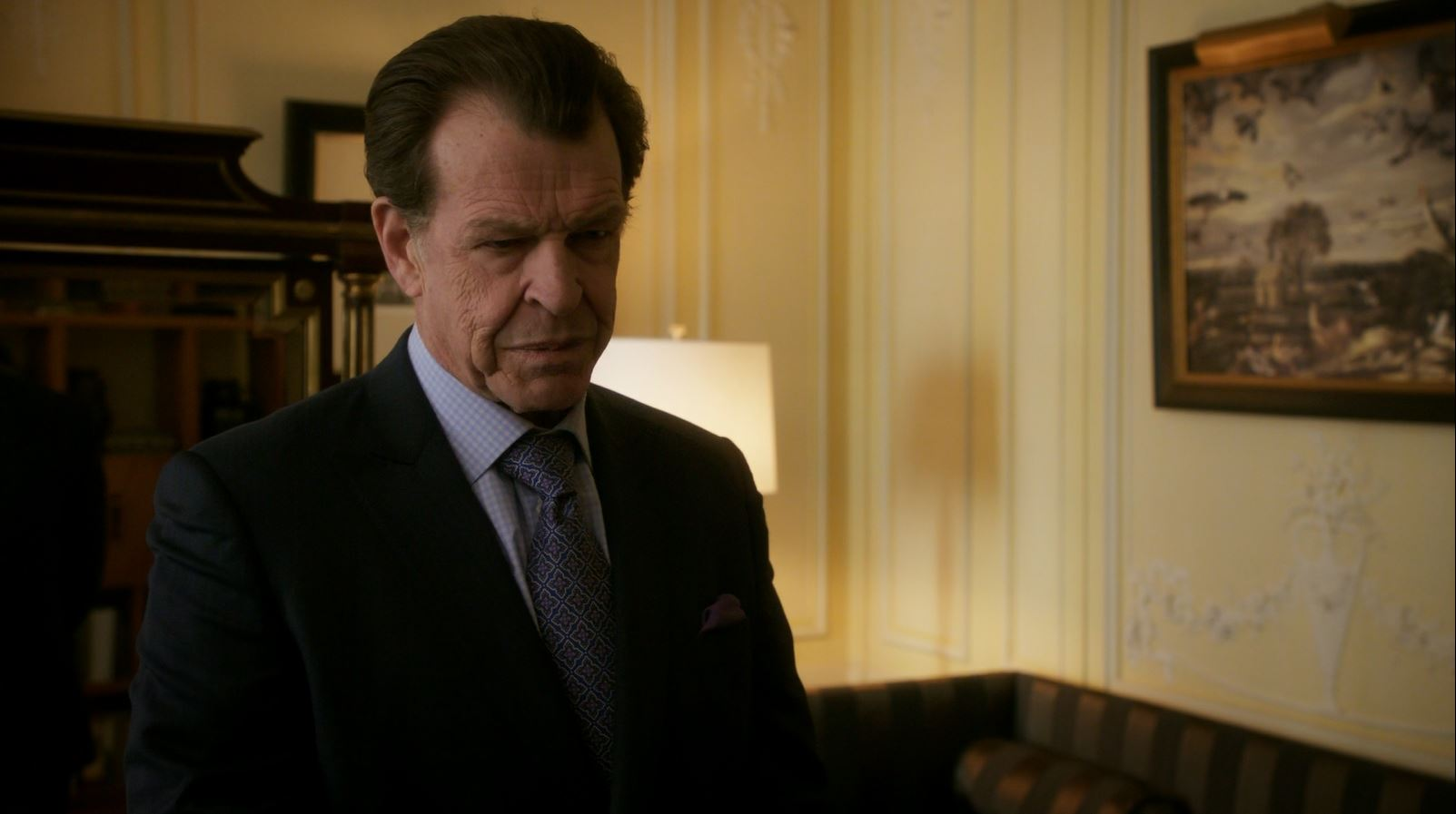 John Noble as Morland Holmes