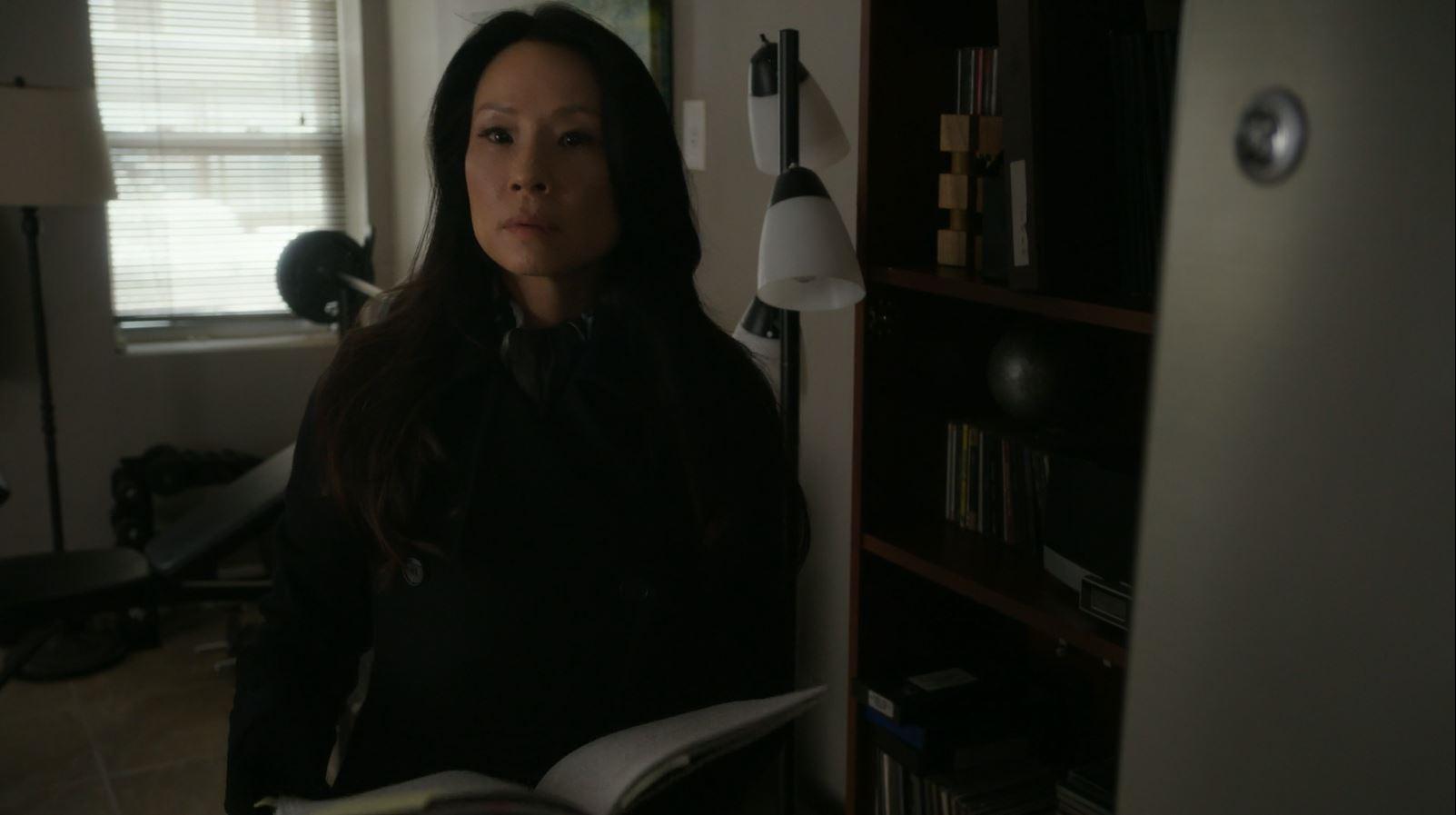 Lucy Liu as Joan Watson. Elementary S4Ep17
