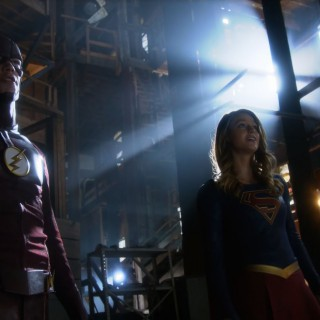 The Flash and Supergirl.