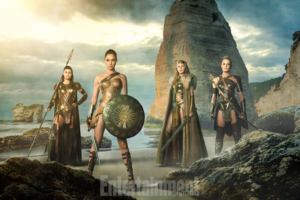 Wonder Woman 2017 - Gal Gadot and Robin Wright