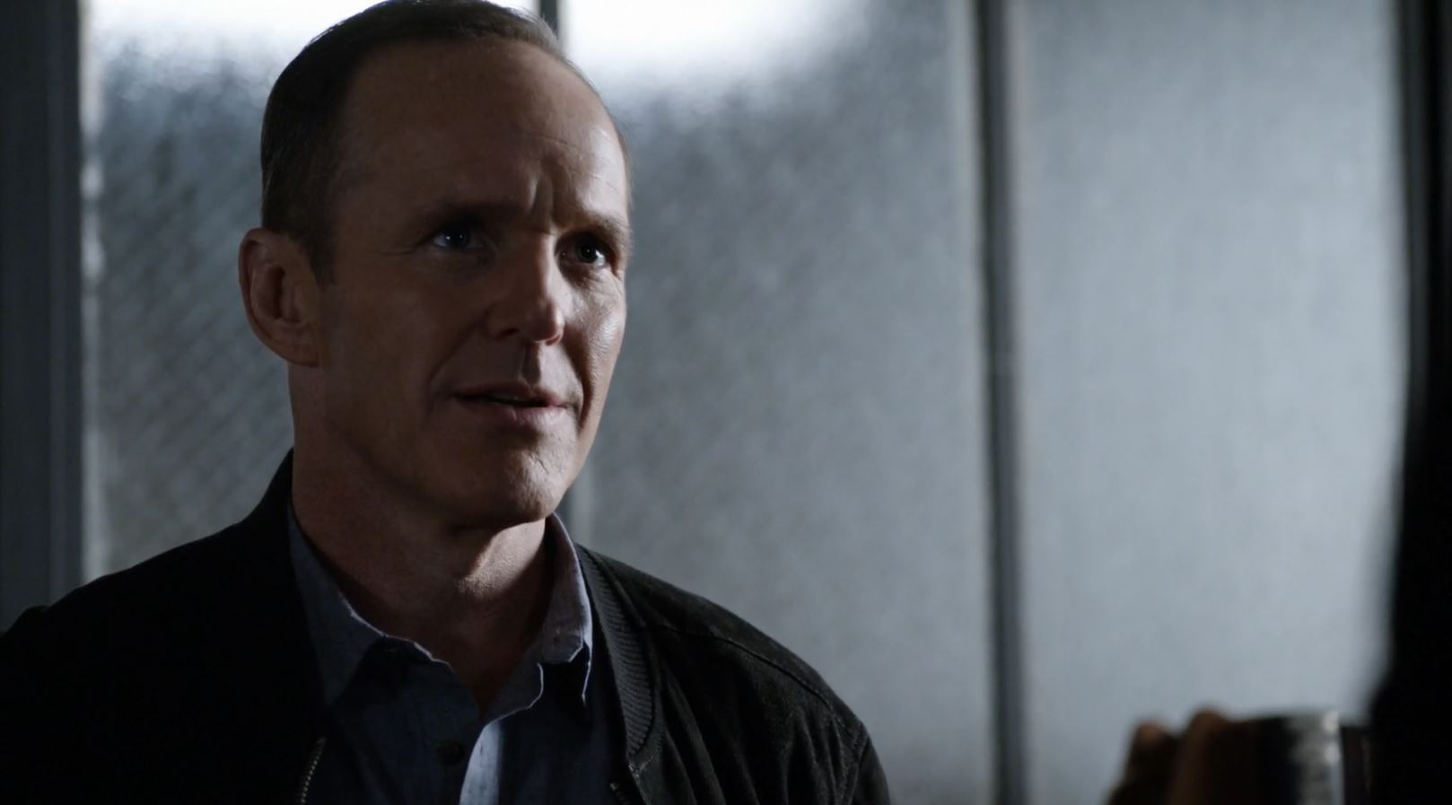 Clark Gregg as Phil Coulson. Agents of SHIELD S3Ep15 Spacetime review.