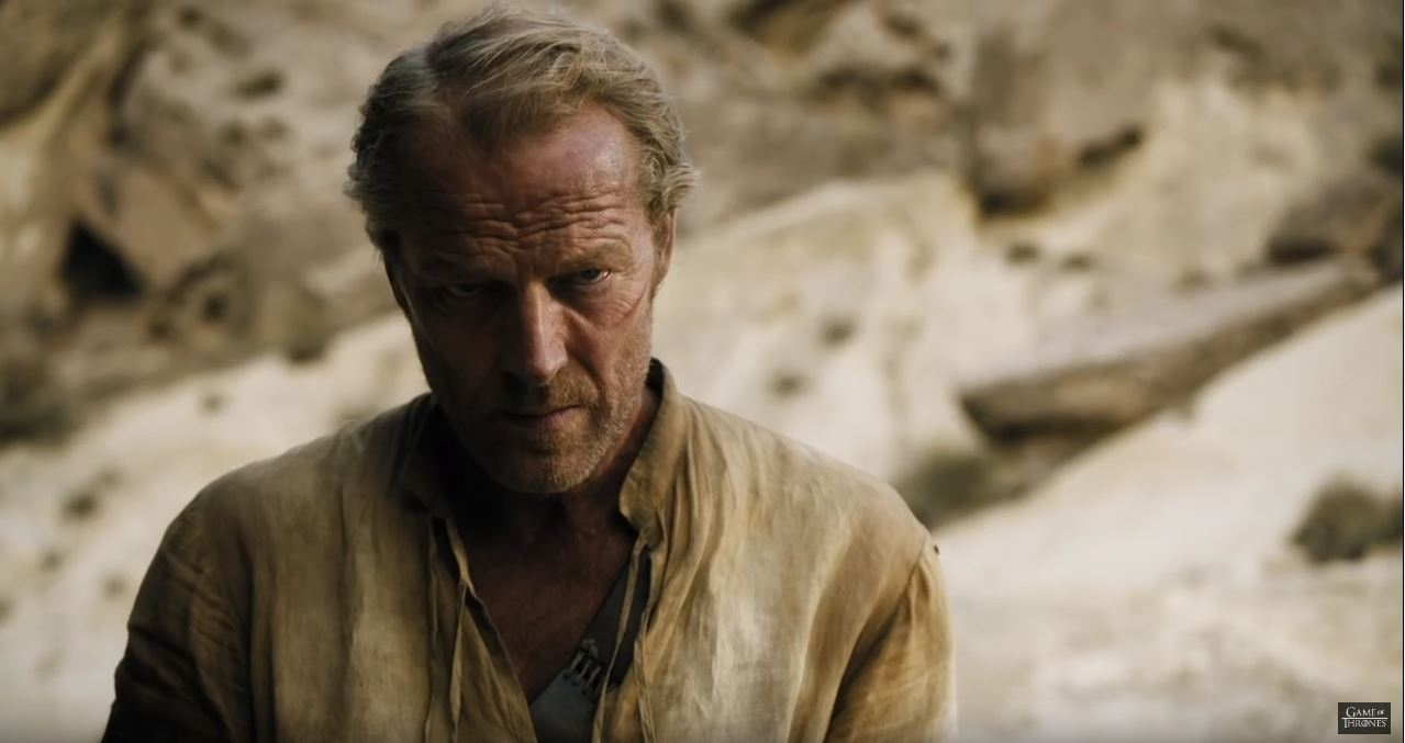 Game Of Thrones Season 6 Preview. Ser jorah Mormont.
